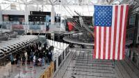 Les frontières américaines sont fermées depuis l'espace Schengen, sauf  dispense